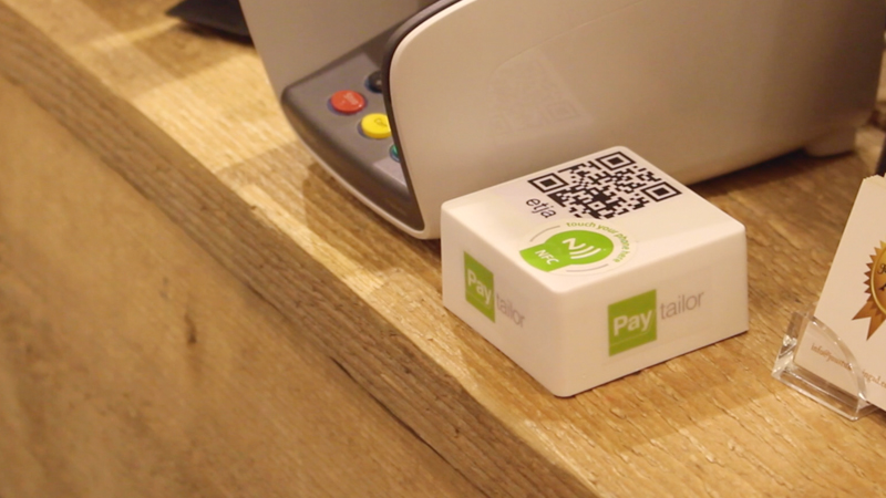 NFC activation, QR code, or choose